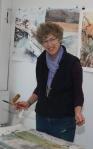 Zanger in Studio