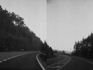 Puntos de unión,Analog photography collage, digital print. 50x70cm, 2014
