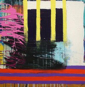 title : DeSean medium : acrylic on canvas size : 27 x 28 year : 2015