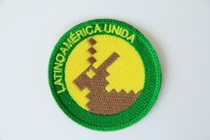 "Latinoamérica Unida. Patch. 3"". 2013"