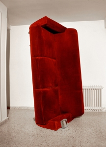 Anger Project, Photograph and Installation, 100 x 210 x 90 cm, 2012