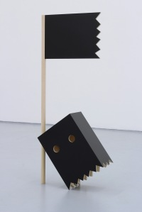 Black Flag 2013 Wood, Acrylic Laminate 47 x 20 x 7""