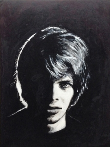 Bowie 67. Acrylic and ink on wood. 2014. 23.5 x 30.5.JPG