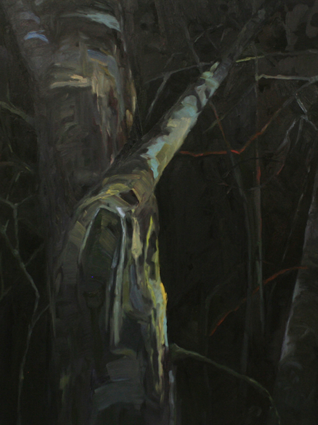 Stand Tall. oil on canvas. 45in x 34in. 2014