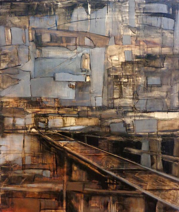 "Span, 24"" x 20"", oil, 2015"