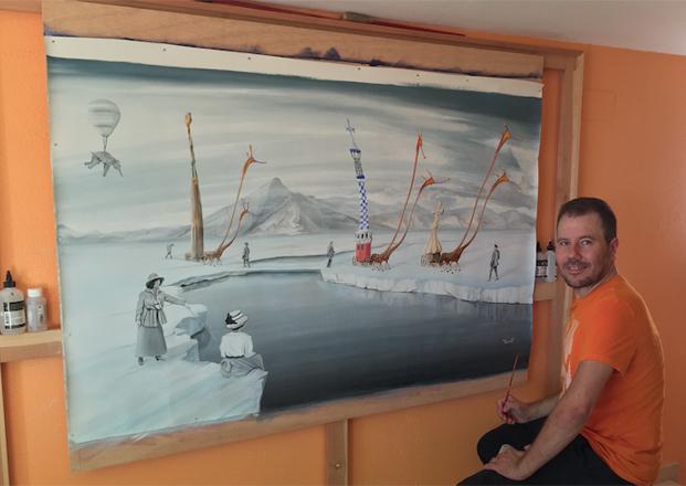 Me in my studio _ Jose Galant