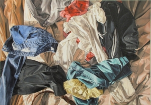 MULTICOLOR OVERALL, 38 x 54 inches, 2009