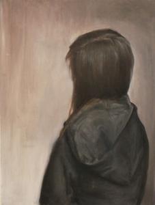 Self Portrait, Oil on panel, 36X24 in 2015