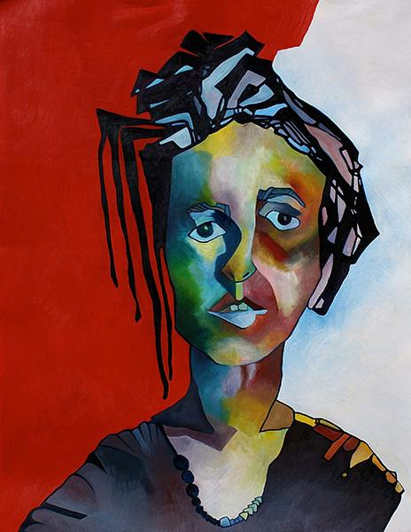 Amy, Oil, 19.5x25.5, 2015