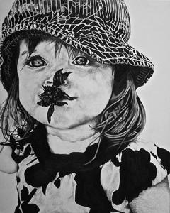 Beatrice, Graphite, 16x20, 2015
