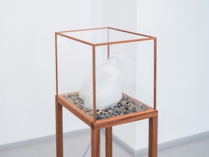 In Vitro.jpg In Vitro (2015), Installation, various materials, various sizes, Scanned Sand