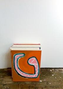 "Wishbone, oil on canvas, 16x20"", 2013"
